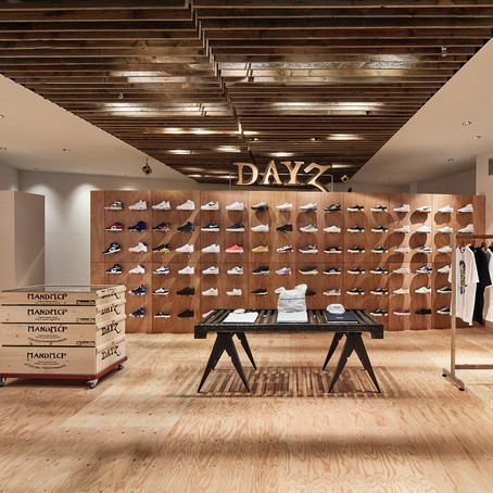 MIYASHITA PARKにBEDWIN & THE HEARTBREAKERSディレクター、渡辺真史が手掛けるストリートブランドとスニーカーのセレクトショップ「DAYZ」がオープン!