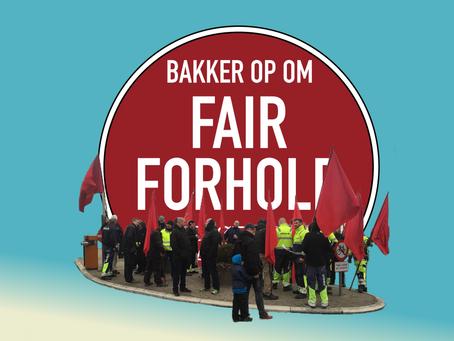 Faneborg for #fairforhold v/ Christiansborg