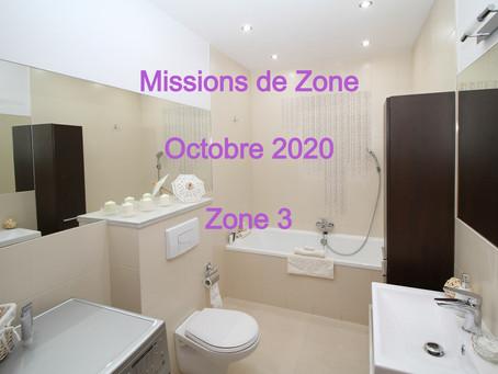 Zones : Missions semaine 42 - Zone 3