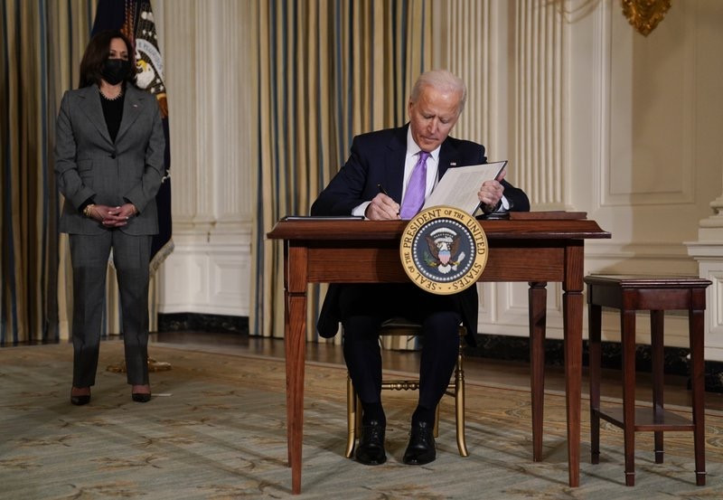 Biden signs order to end use of private prisons.