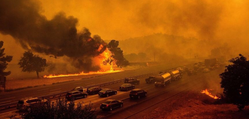 Prayer alert: California on fire…run to God