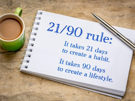 Easy 21-Days Guide To Creating New Habits