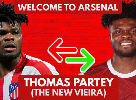 Thomas Partey Joins Arsenal, As He Parts With Atletico Madrid.