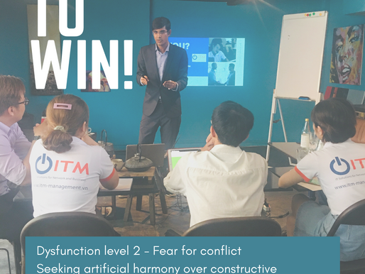 [A leaders' Must-know] Teamwork dysfunction level 2 - Fear for conflict