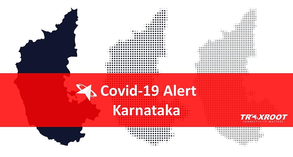 how covid-19 started in Karnataka