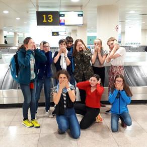 Arrivés à Barcelone!