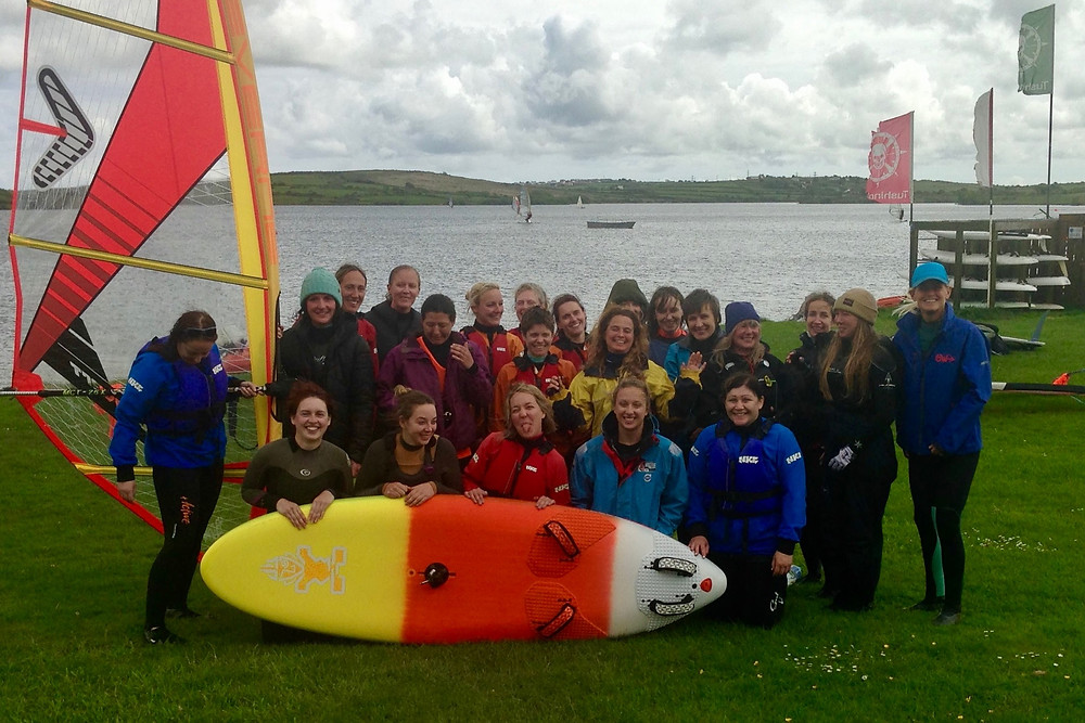 Girls Only Windsurf Clinique with Danielle in the UK