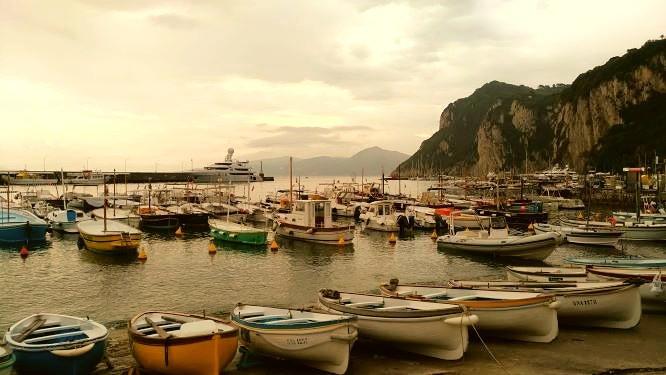 Excursiones en lanchas - Marina Grande - Sensi in Viaggio