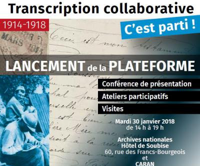 Lancement d'une transcription collaborative de testaments de poilus par les Archives Nationales