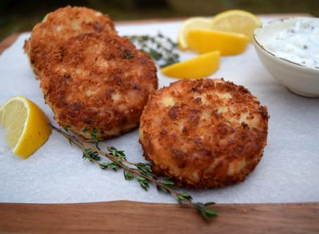 Best Fish Cakes with Tartar Sauce