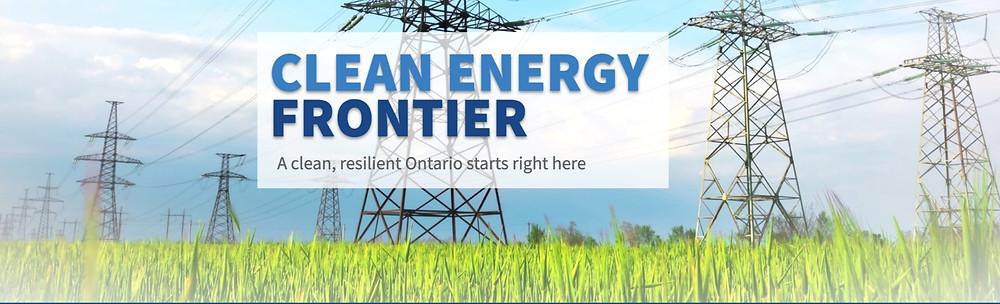 Clean Energy Frontier header