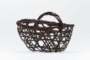Iizuka Rokansai- flower basket Tagonora- 1933