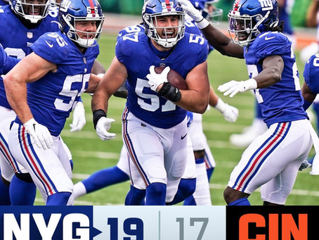Giants Week 12 Recap: A close game and a Daniel Jones injury, but New York comes out on top.