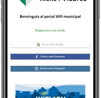 Modi posa en marxa el portal Wifi4Eu de l'Ajuntament  de Riells i Viabrea