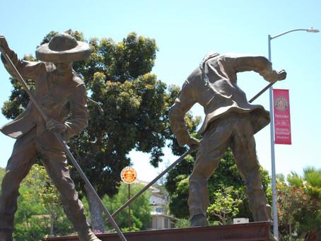 """Gandy Dancers"" Iron Road Pioneers Statue"