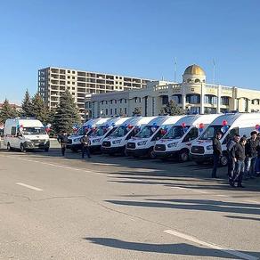 Новын автомобиля скорой помощи 23.12.2019г