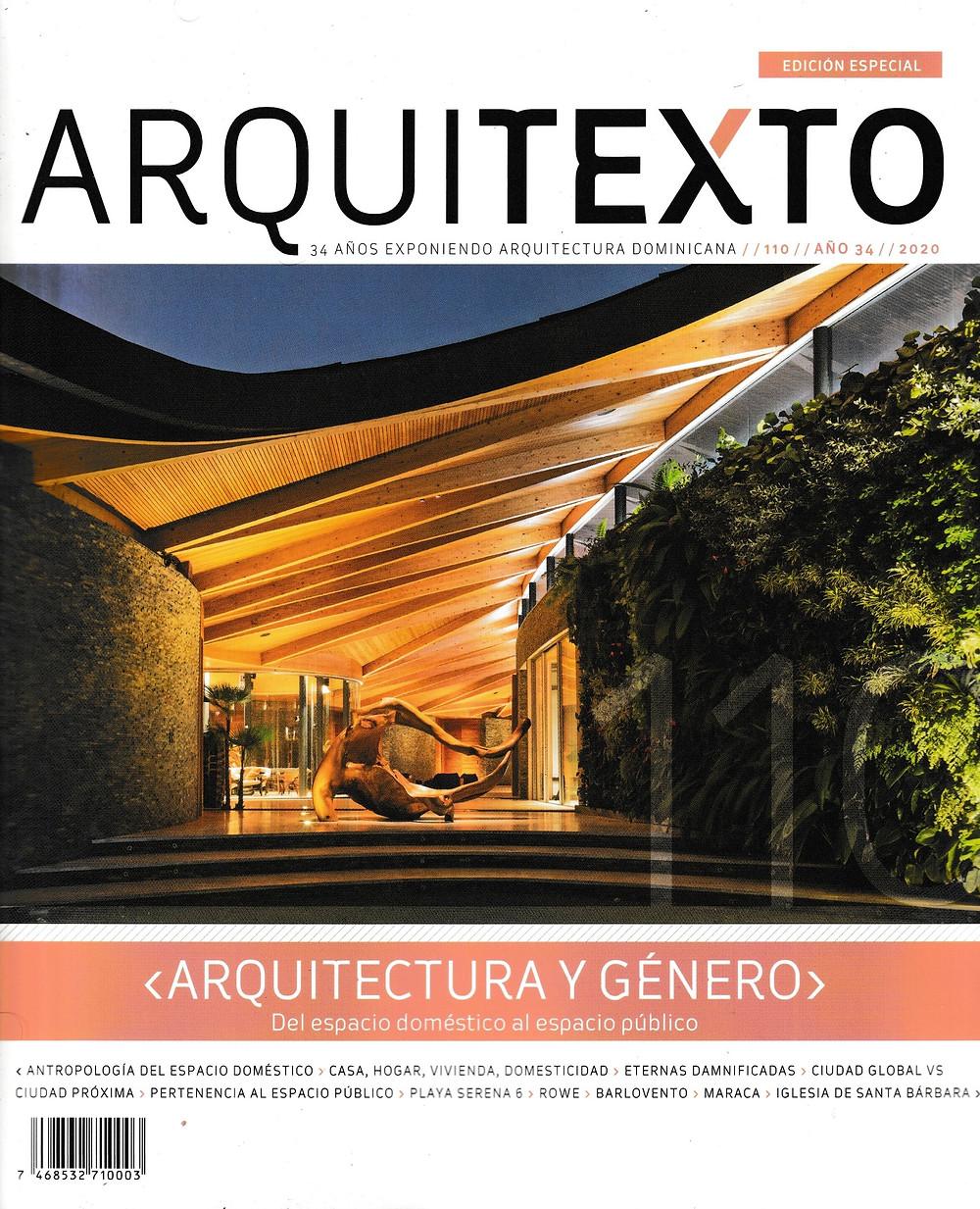Revista Arquitexto edición 110