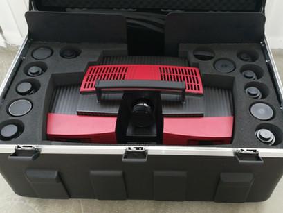 Anlieferung GOM 3D Scanner