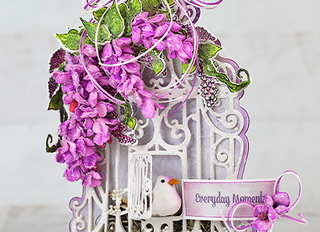 Decorative Cascading Petals