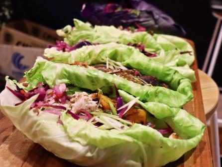 Keto Barramundi Burrito (Cabbage Wrap)