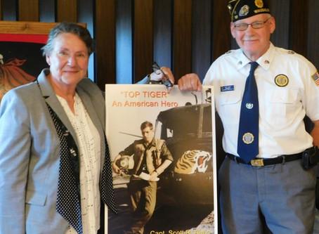 Presentation to American Legion Post 10