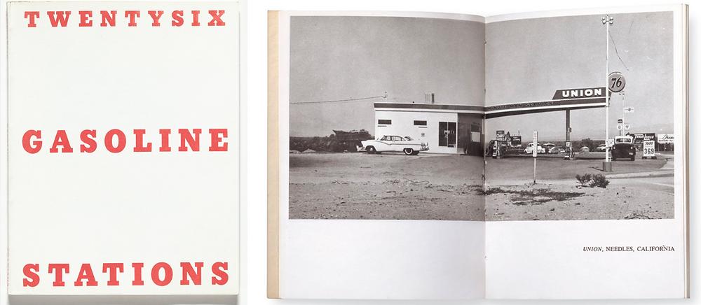 Twentysix Gasoline Stations, de Ed Ruscha (Publicação do autor, 1962) fotolivro