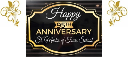 Celebrating St. Martin's 95th Anniversary!