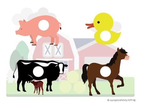 Farm Animals Printables! Colouring Time!
