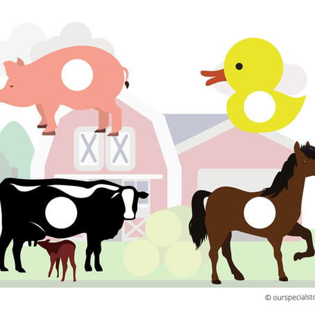 Farm Animals Printables! Colouring Time!