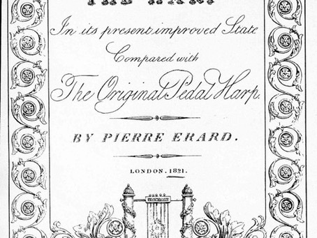 """Critical comments on Pierre Erard's brochure of 1821 """"THE HARP in its present improved state …"""""""