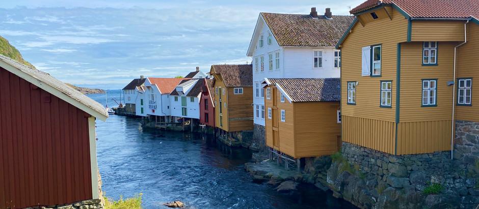 """Norgesferien langs Nordsjøvegen i """"okkaland"""""""