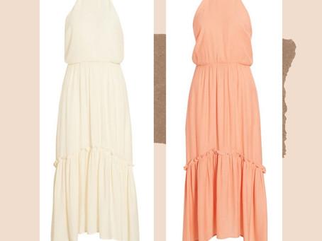 Nordstrom Halter Maxi Dress