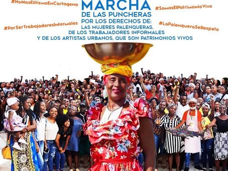 Palenqueras se toman el Centro Histórico de Cartagena