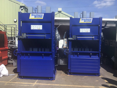 Popular Chessington Garden Centre invests in 2 new innovative, mill size, vertical balers!