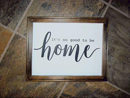 Signs - How to get a farmhouse feel with a Reverse Canvas