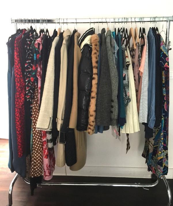 Wardrobe Stylist Closet Cleanse