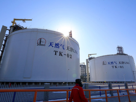 Chinese aim to increase domestic production, but this will not decrease LNG imports
