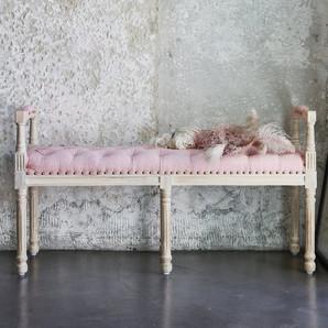 Elegant Farmhouse Tufted Bench