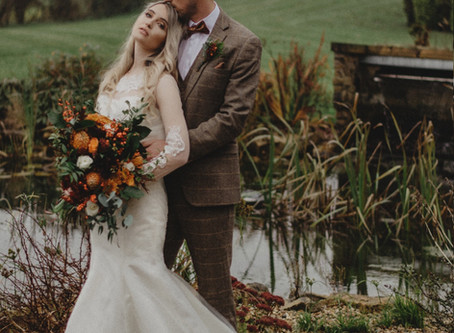 An autumnal wedding shoot in West Yorkshire