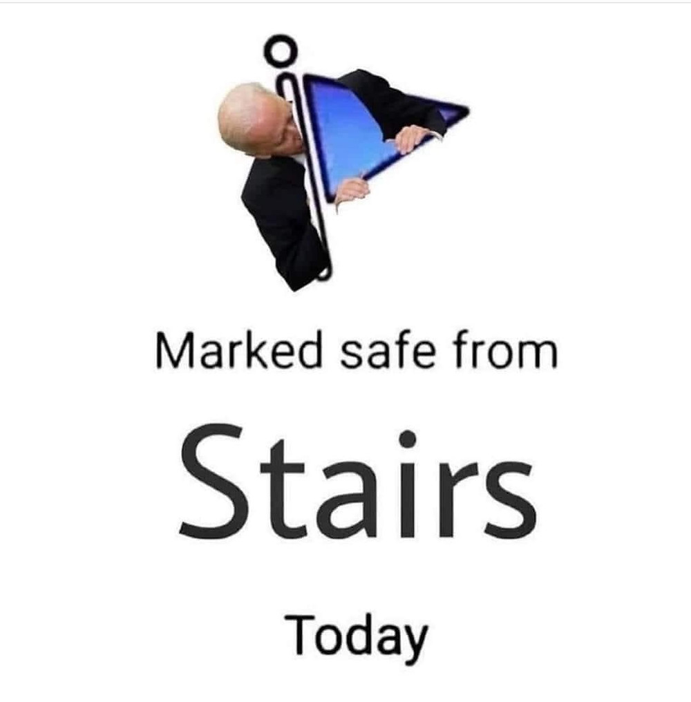 Funny Biden Stairs Memes