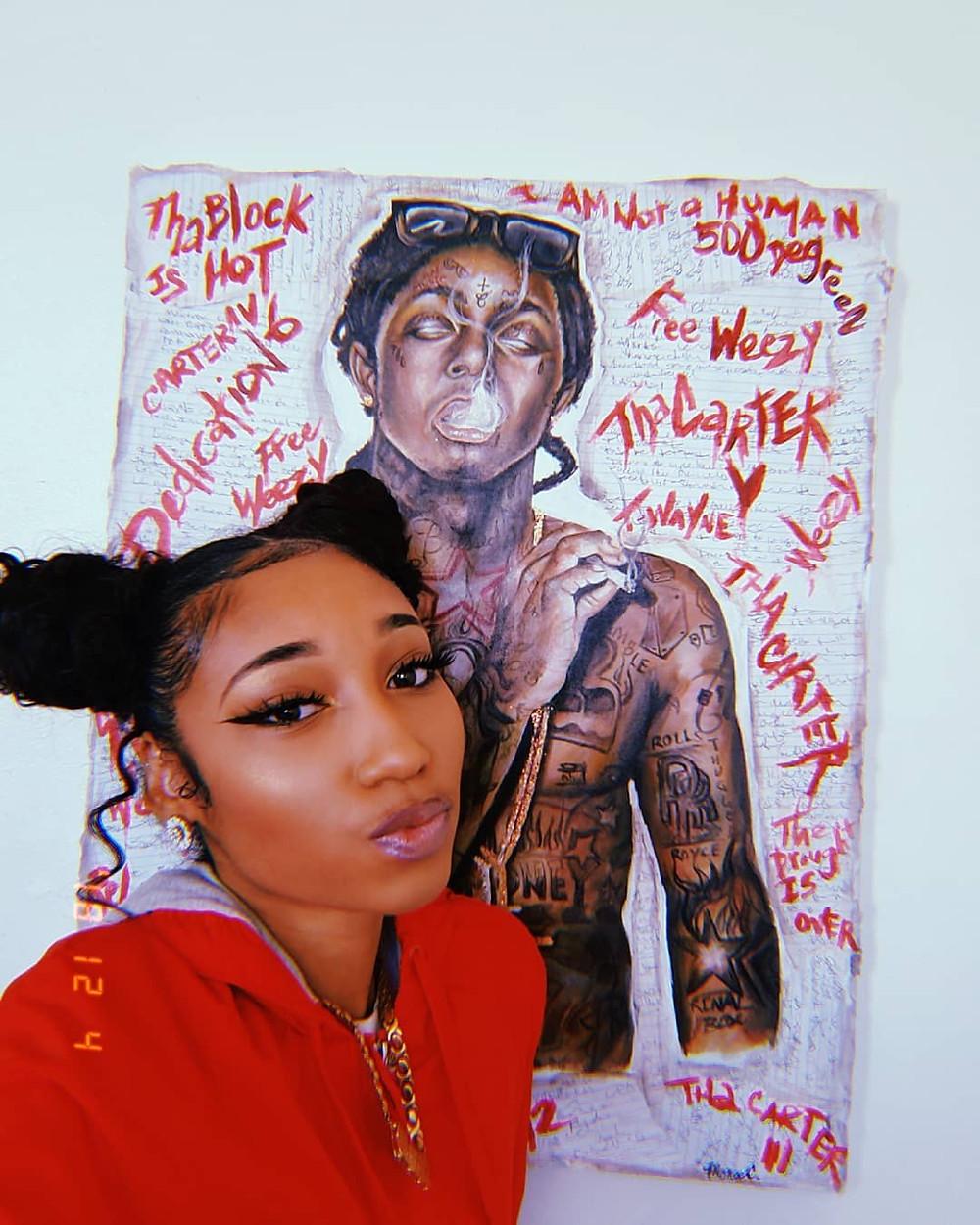 Lil Wayne Artwork