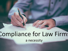 Compliance for law firms may sound boring, but it is not!