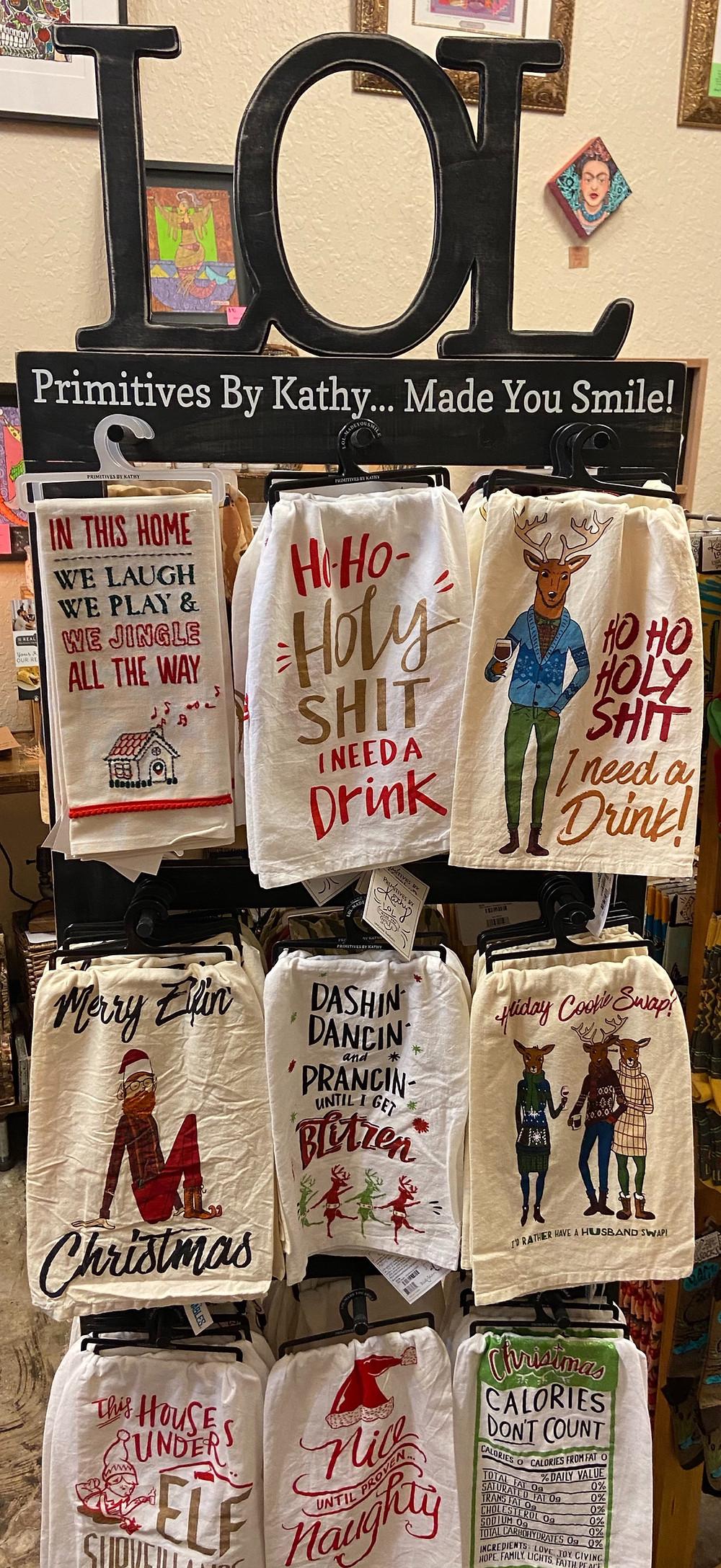 dish towels gift shop