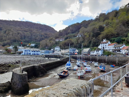Looking around Lynmouth