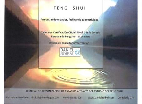 Feng Shui, espacios armónicos y saludables- Talleres 2018