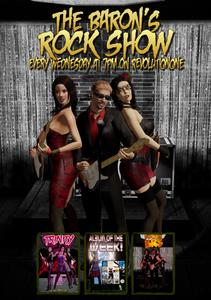 Baron's Rock Show 366 promo pic for Revolution Radio Online