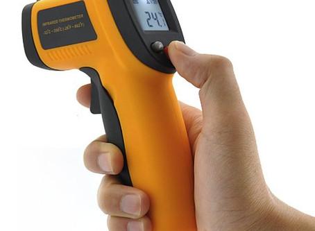 Ce que les constructeurs ne vous disent pas, PART II : les thermomètres infrarouges 'THIR'