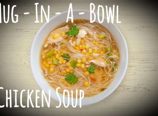Hug-In-A-Bowl Chicken Soup