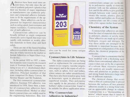 13.IPF - Fascinating World of Super Glues