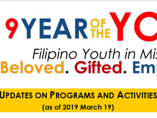 ECY releases updated Year of the Youth Calendar